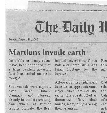 Martians Invade Earrth